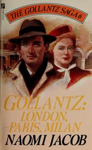 Gollantz by Naomi Jacob