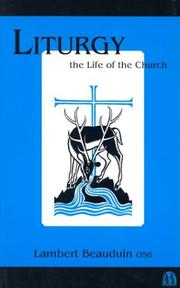 Liturgy the life of the church by Lambert Beauduin