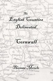 Cover of: The English Counties Delineated, Cornwall by