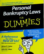 Personal bankruptcy laws for dummies PDF
