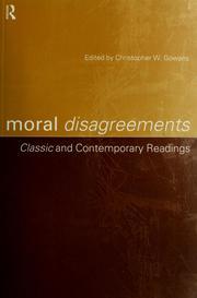Moral disagreements PDF