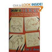 Draw 50 horses PDF