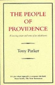 The people of Providence by Tony Parker