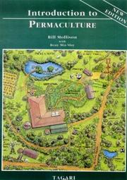 Cover of: Introduction to Permaculture by Bill Mollison