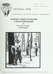 Intensive forest inventory PDF