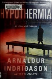 Hypothermia by Arnaldur Indriason