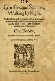 Of Ghostes and Spirites, Walking by Night PDF