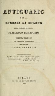 Antiquario della diocesi di Milano