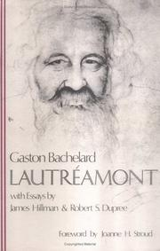 Lautréamont by Gaston Bachelard