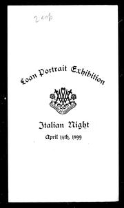 Loan portrait exhibition by