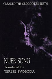 Cleaned the Crocodile's Teeth, Nuer Song PDF
