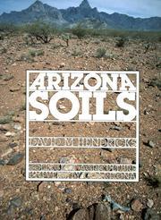 Arizona Soils David M. Hendricks