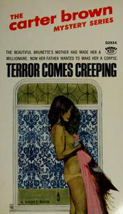 Cover of: Terror comes creeping by Carter Brown