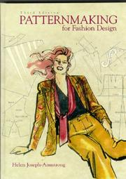 Cover of: Patternmaking for fashion design by Helen Joseph Armstrong