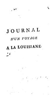Journal d'un voyage a la Louisiane, fait en 1720 by Vallette de Laudun