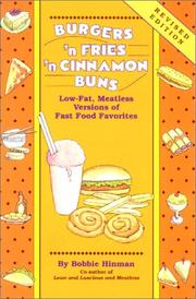 Burgers 'n Fries 'n Cinnamon Buns by Bobbie Hinman