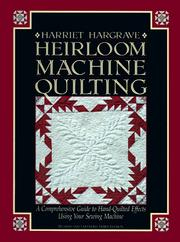 Heirloom machine quilting by Harriet Hargrave