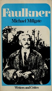 Cover of: William Faulkner by Millgate, Michael.