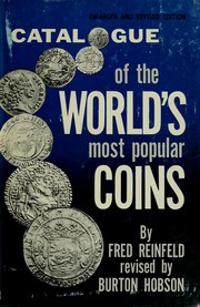 Catalogue of the world's most popular coins by Reinfeld, Fred