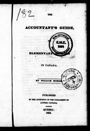 The accountant&#39;s guide for elementary schools in Canada by William Morris