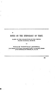 Notes on the ethnology of Tibet by William Woodville Rockhill