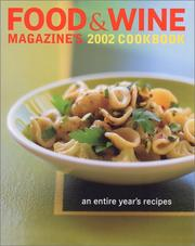 Food & Wine Magazine's 2002 Cookbook PDF