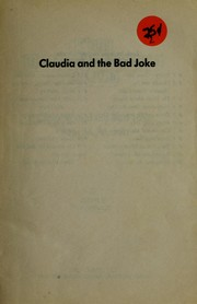 Claudia and the Bad Joke by Ann M. Martin