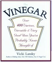 Vinegar by Vicki Lansky