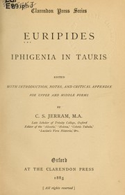 Cover of: Iphigenia in Tauris by Euripides