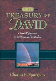The Treasury of David by Charles Haddon Spurgeon
