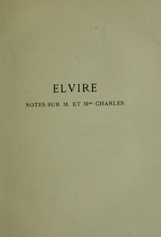 L'Elvire de Lamartine by Anatole France