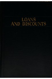 Cover of: Loans and discounts by