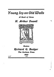 Cover of: Young ivy on old walls by H. Arthur Powell