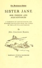 Sister Jane PDF