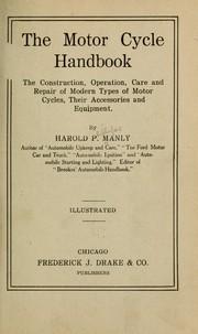 The motor cycle handbook PDF