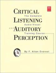 Critical Listening Auditory Perception PDF