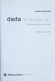 Dada by Richter, Hans