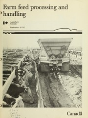 Farm feed processing and handling by A. Protz