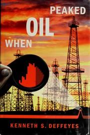 When oil peaked PDF