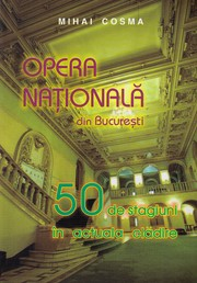 Cover of: Opera Nationala din Bucuresti by