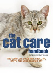 Cover of: the cat care handbook by Catherine Davidson