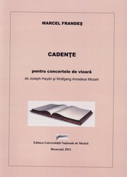 Cover of: Cadenzas to Haydn and Mozart Violin Concertos by