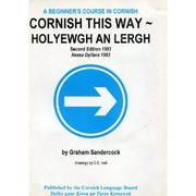 Cover of: Cornish this way by Graham Sandercock