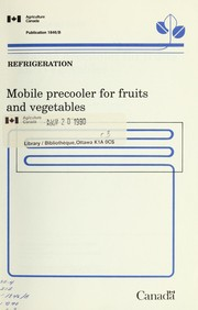 Mobile precooler for fruits and vegetables PDF