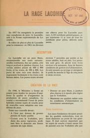 Race Lacombe PDF