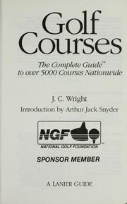 Golf courses PDF