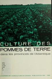 Culture des pommes de terre dans les provinces de lAtlantique