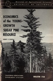 Economics of the young-growth sugar pine resource PDF