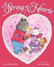 A string of hearts by Laura Elliott