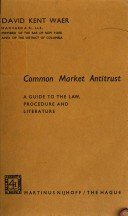 Common market antitrust PDF